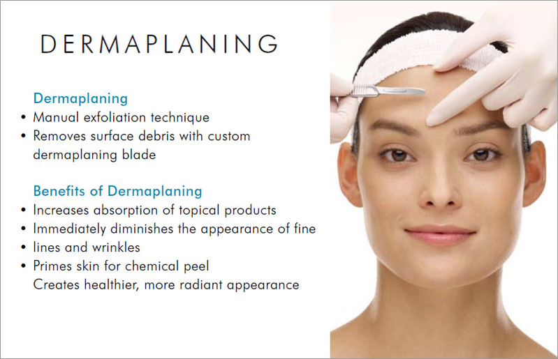 Dermaplaning Details and Benefits, photo of woman in treatment