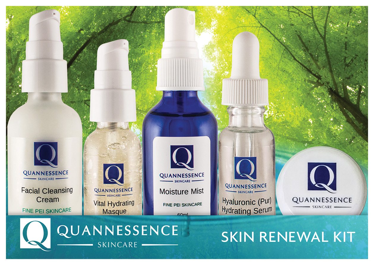 Quannessence Skin Renewal Kit (5 Products)